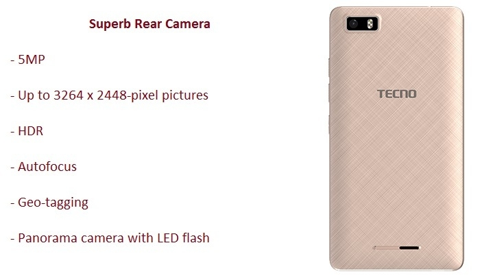 5MP camera smartphone on Jumia at the best price