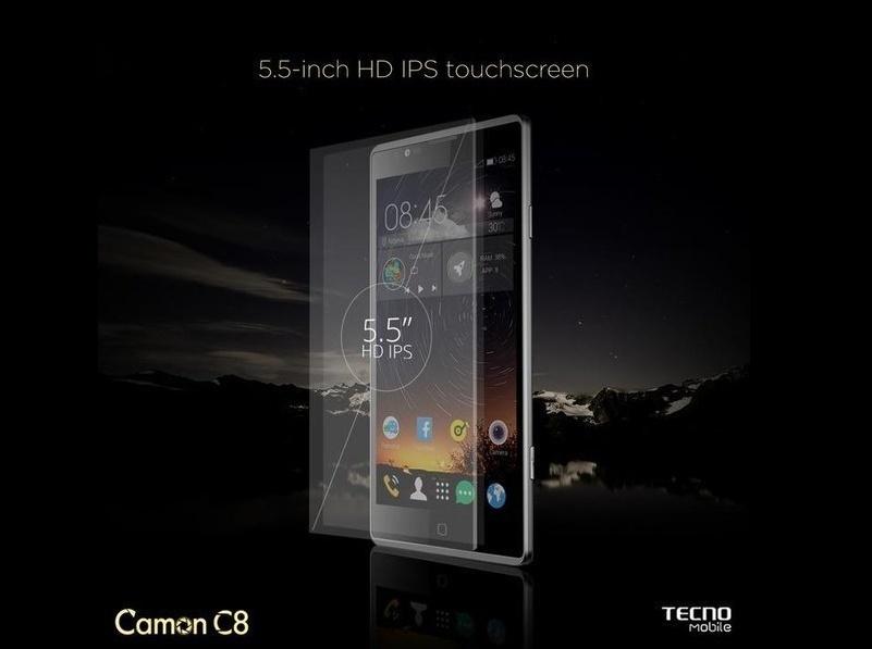 camon c8 ips touchscreen