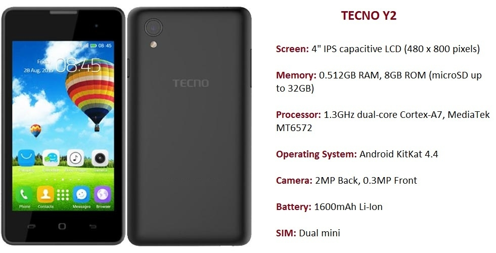 Tecno Y2 on Jumia at the best price in Nigeria.