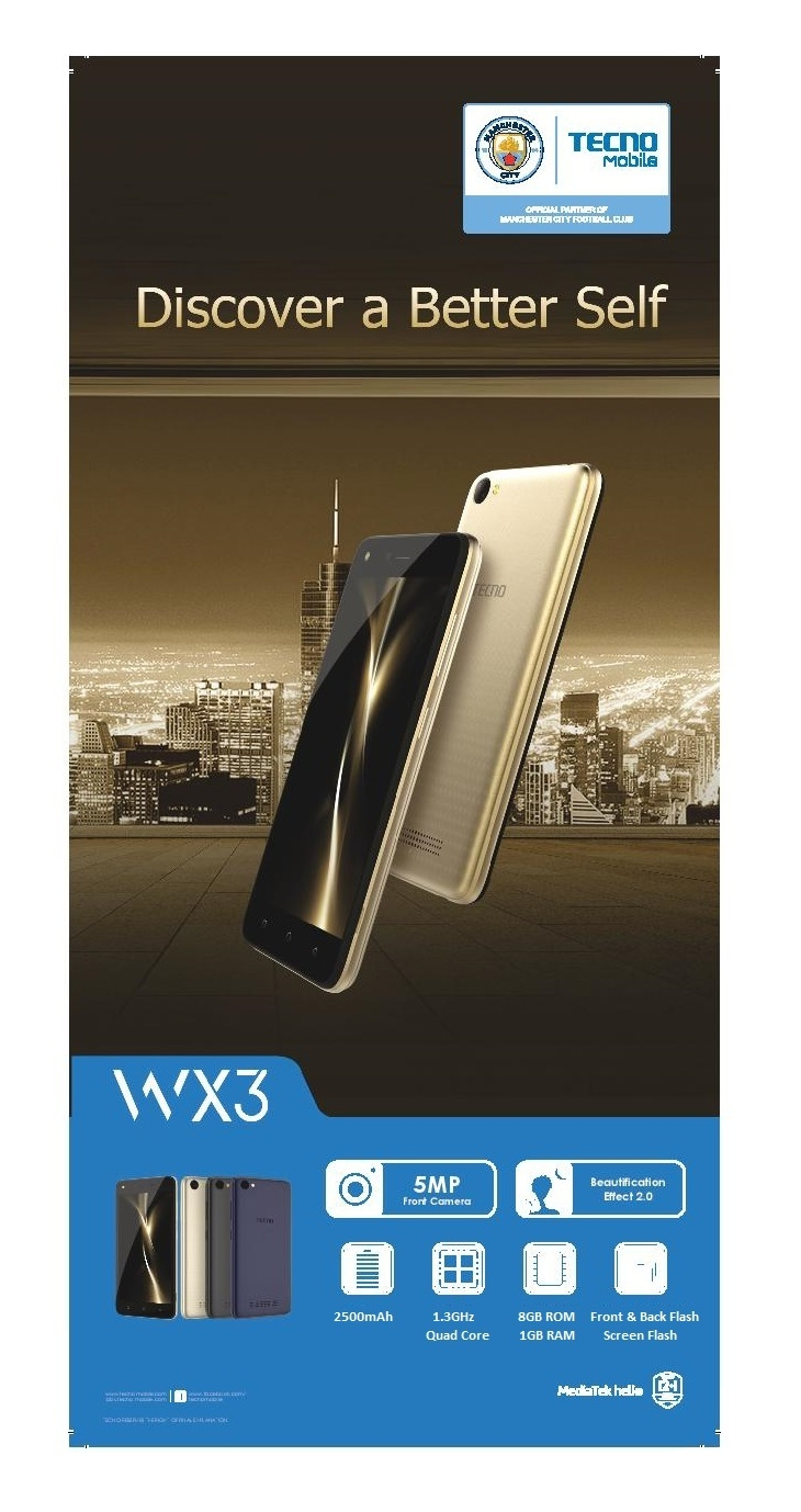 Tecno WX3 available on Jumia