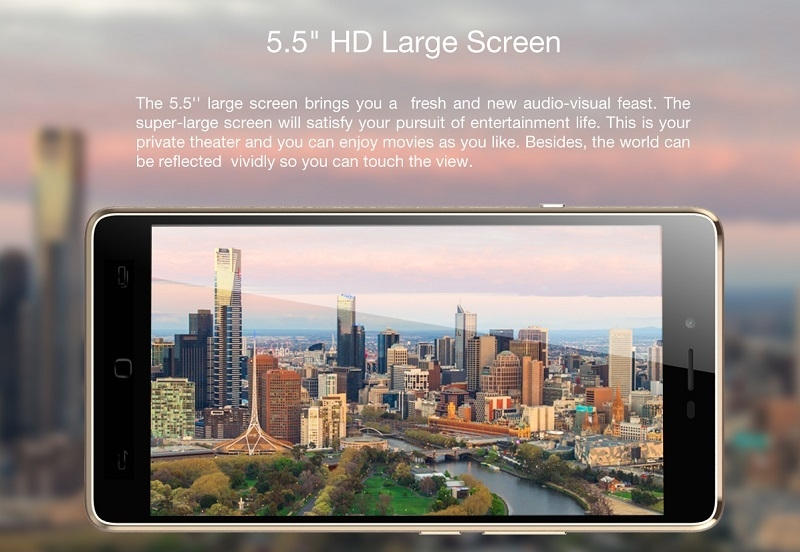 TECNO L8 5.5 HD SCreen