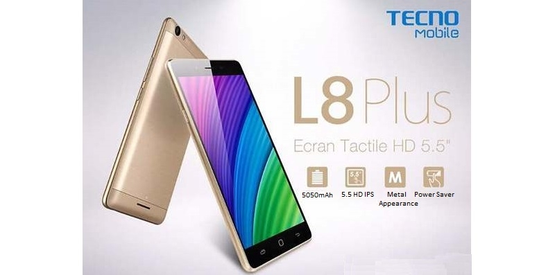 L8 Plus banner on Jumia Nigeria