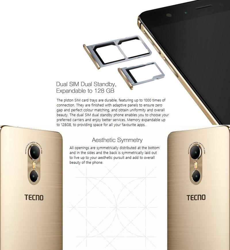 Tecno Phantom 6 Dual SIM Android phone