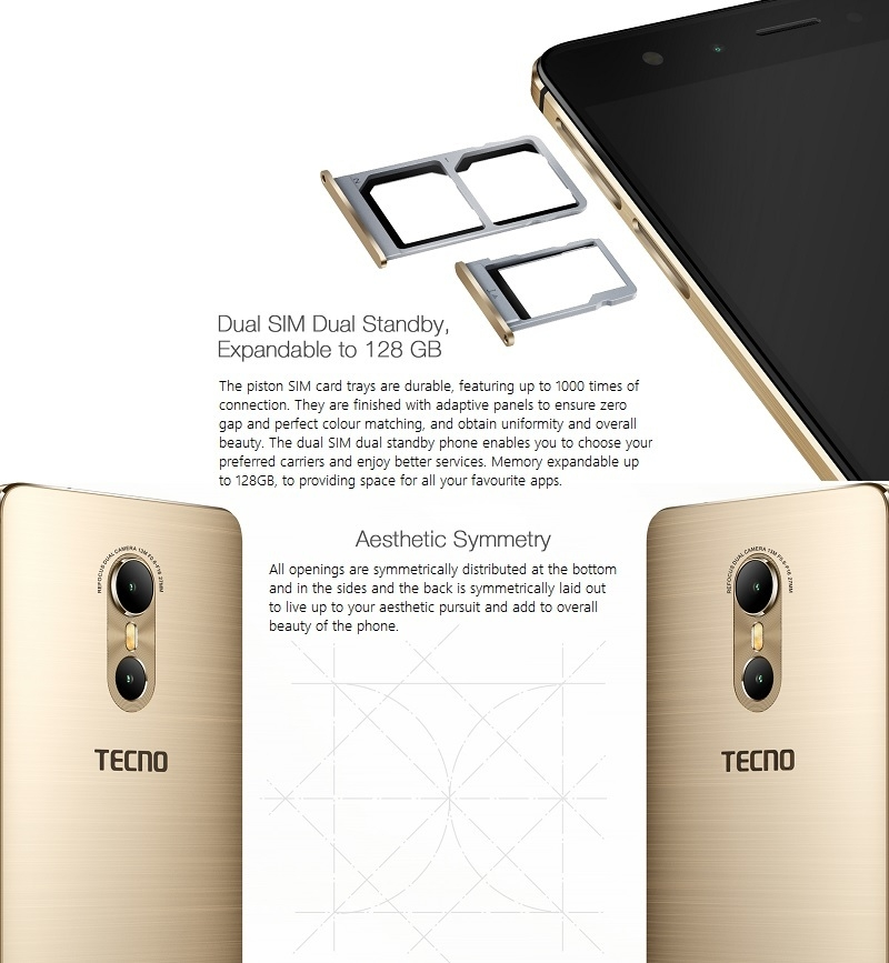 Tecno Phantom 6 Dual SIM Android phone