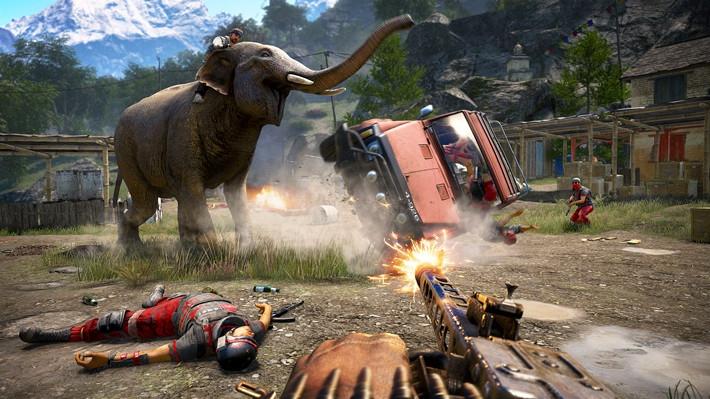 Far cry 4 environment