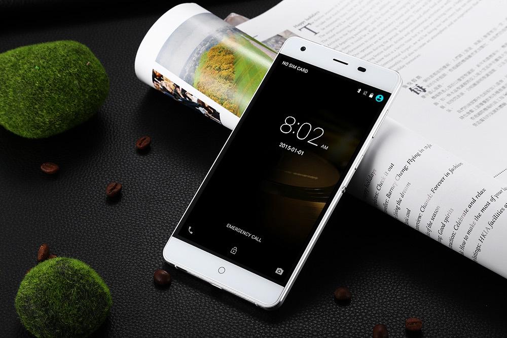 Ulefone Power Android 6.0 4G Phablet 5.5 inch 6050mAh MTK6753 64bit 1.3GHz Octa Core Fingerprint ID 3GB RAM 16GB ROM 13.0MP Camera Quick Charge