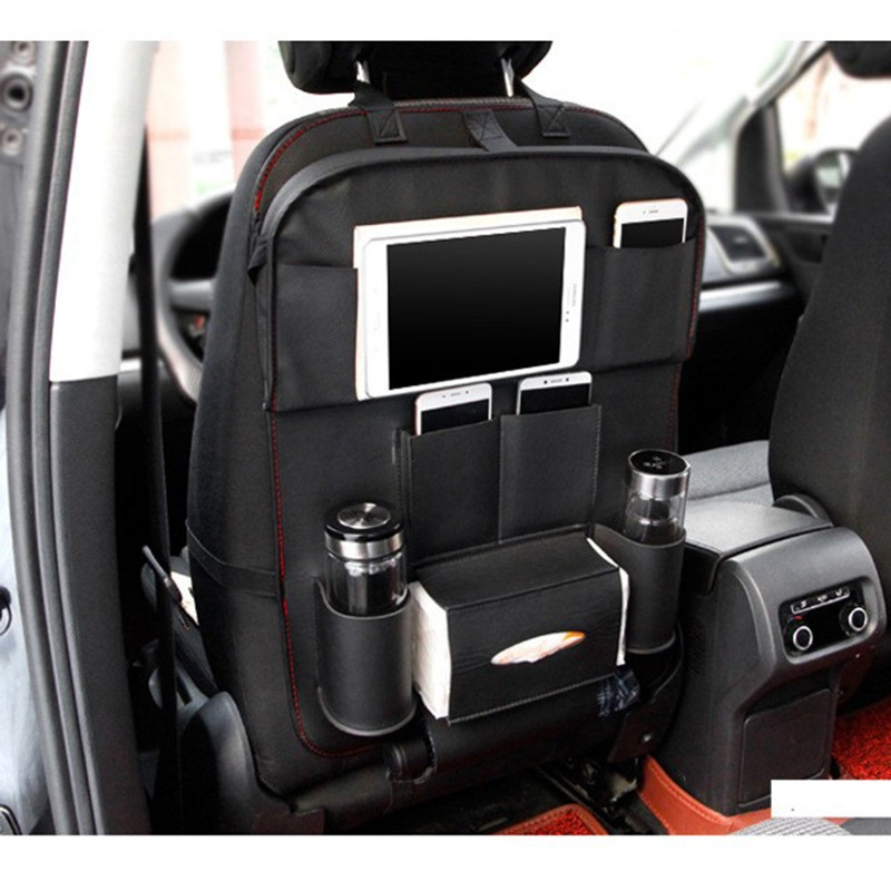 df9851519c1b8fddff0963654dab598c UNIVERSE Car Seat Cover Organizer With Dishing Tray/ Latest Multifuction, Made Of Leather price on jumia