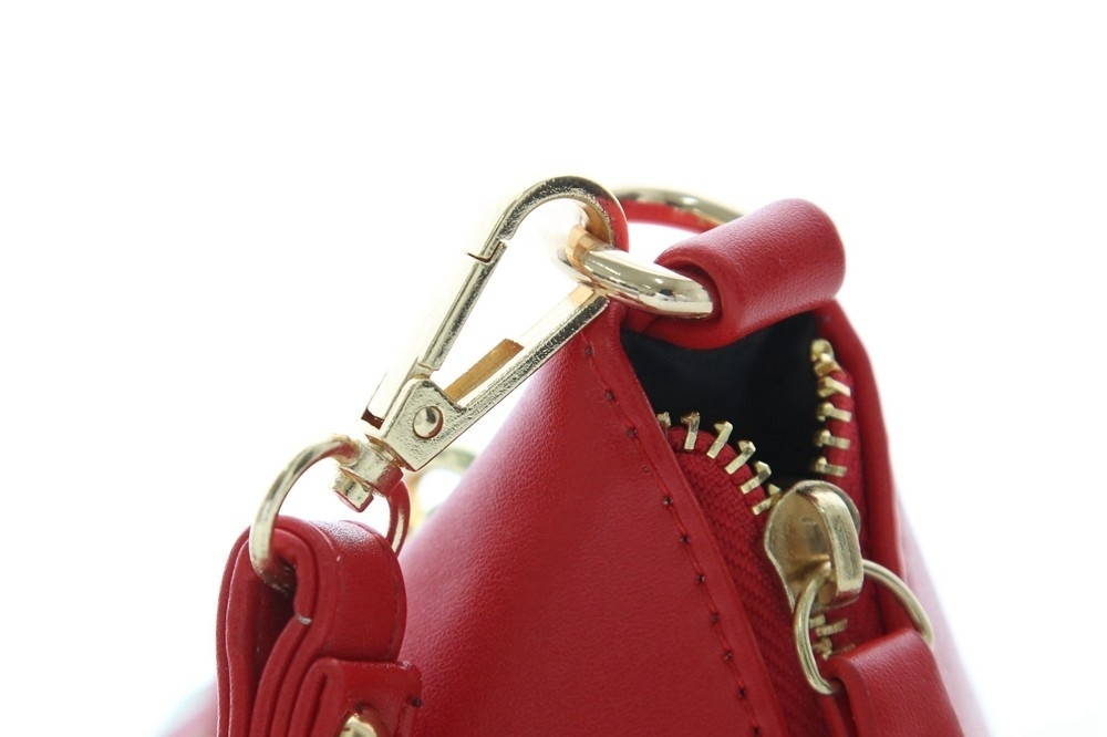 Triangle Shape Day Clutch Women Evening Bag PU Leather Wristlet Purses Tassel Small Handbags Herald Fashion New Arrivals (1)