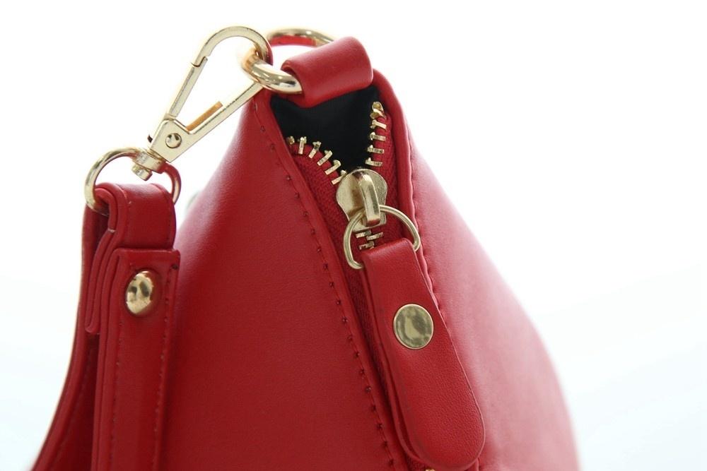 Triangle Shape Day Clutch Women Evening Bag PU Leather Wristlet Purses Tassel Small Handbags Herald Fashion New Arrivals (2)