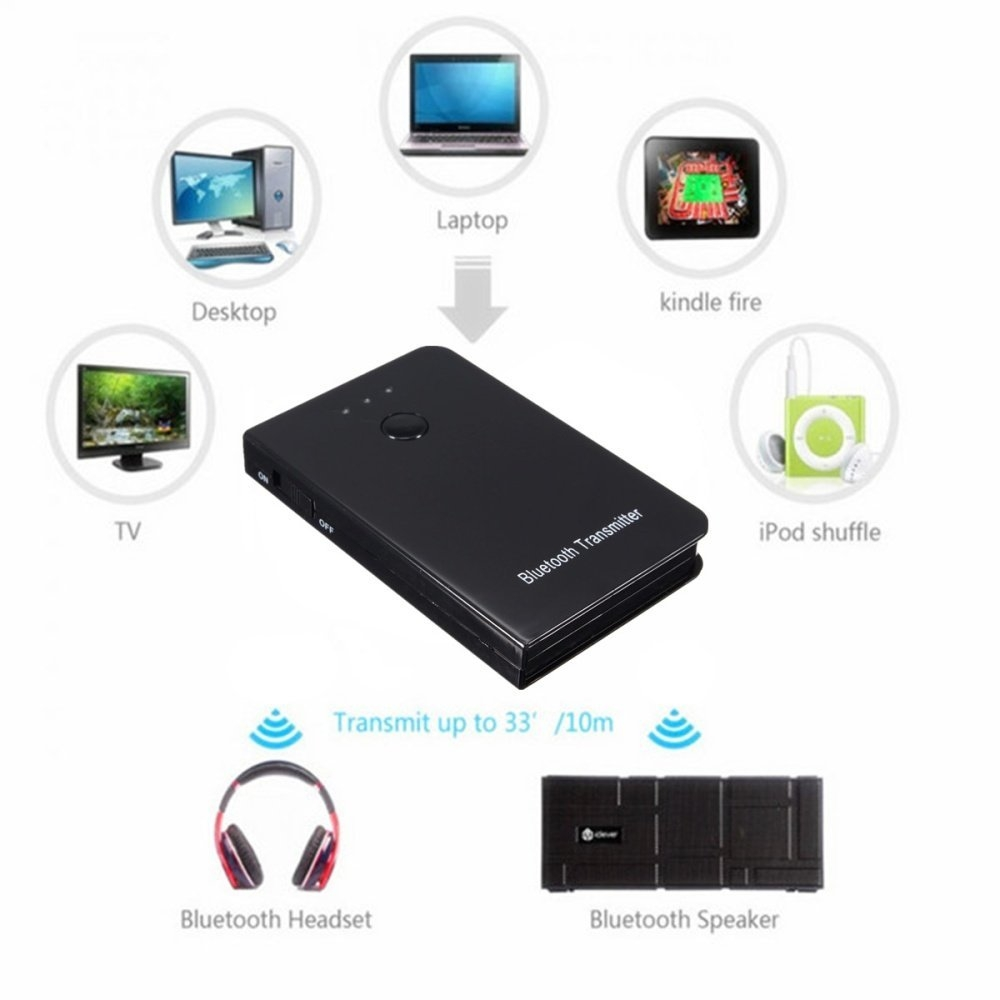 Usb Interface Bluetooth A2dp Music Streaming Adapter: Universal Wireless Bluetooth A2DP Audio Music Streaming