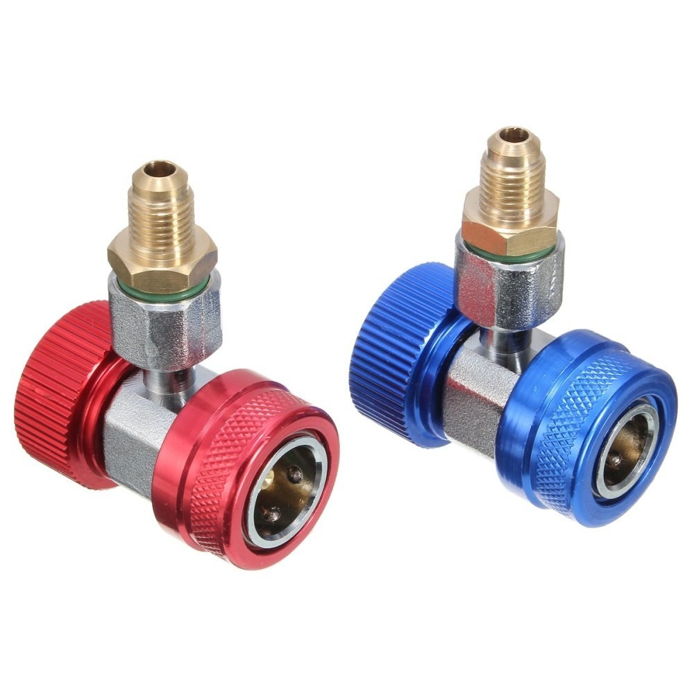 Universal Adapter R134A Quick Coupler 90 Low & High Side AC Manifold price in nigeria