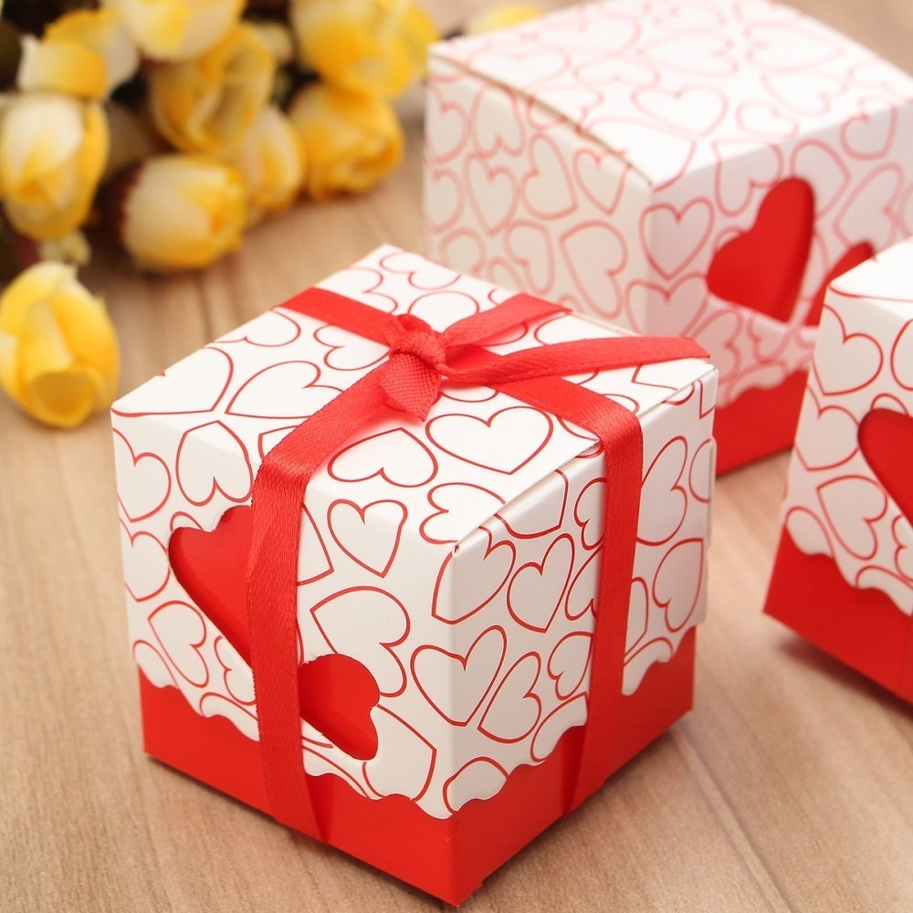 Nigeria | Buy Universal 10Pcs Love Heart Wedding Favour Boxes Party ...
