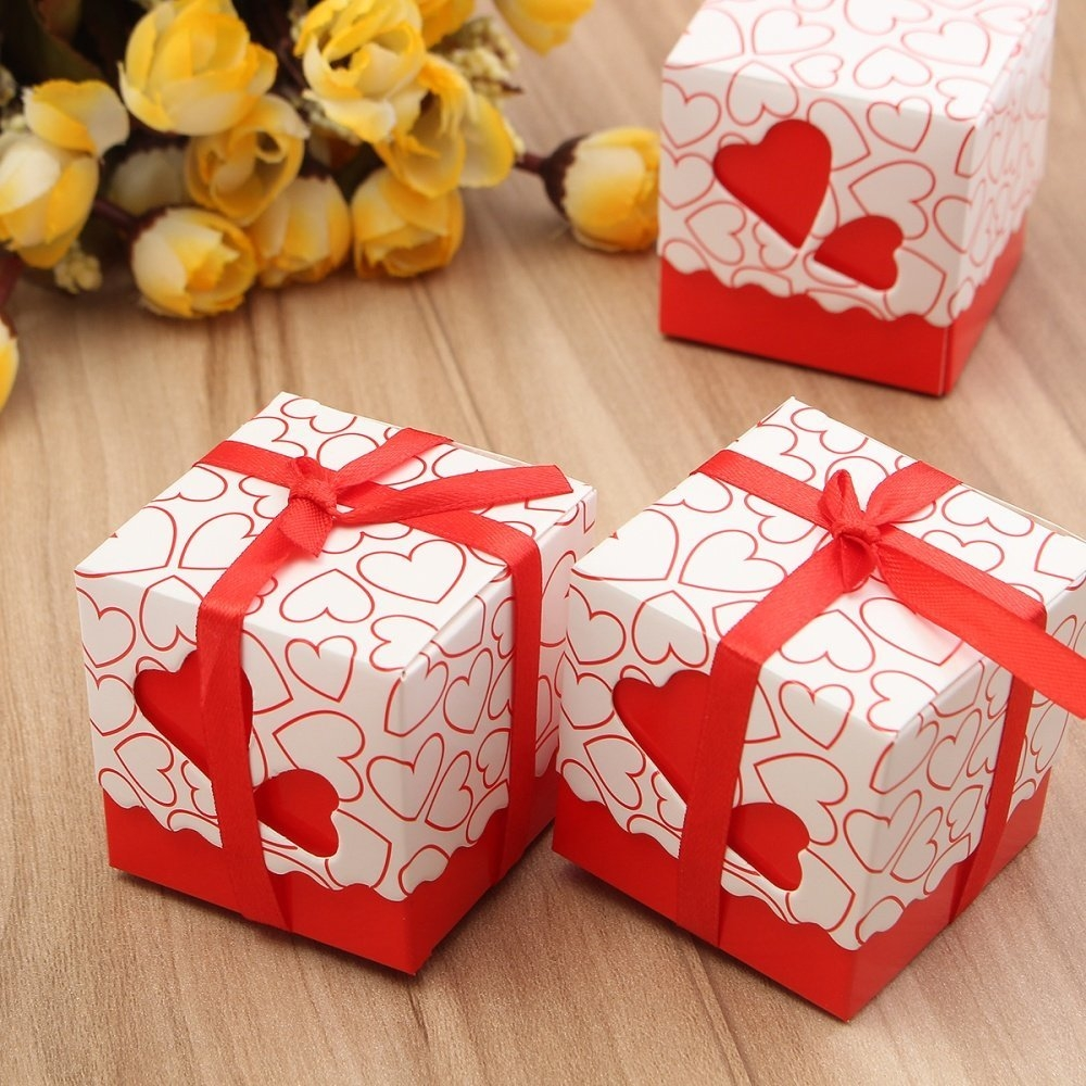 Nigeria | Buy Universal 10Pcs Love Heart Wedding Favour Boxes Party ...