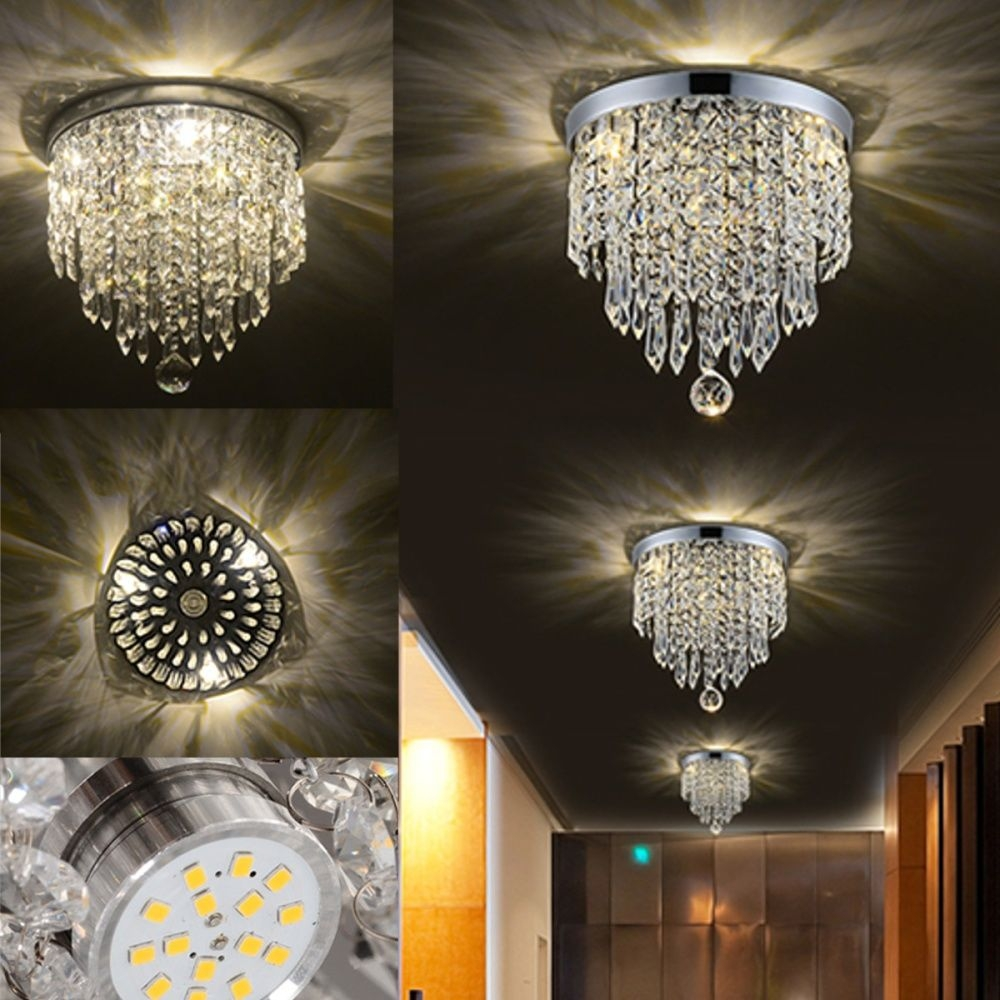 Generic Elegant Chandelier Crystal Lamp Light Ceiling