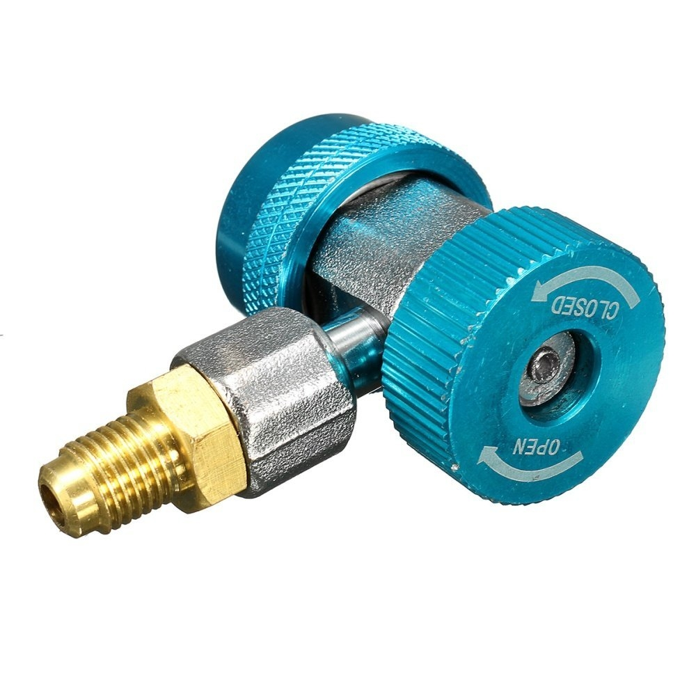 Universal AUTO AC R134a Quick Connector Adapter Coupler With Low High HVAC price in nigeria
