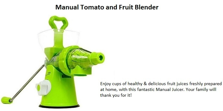 Universal Manual Tomato and Fruit Blender on Jumia