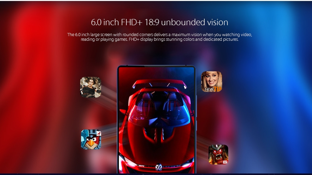 Vernee Mix 2 4G Phablet 6.0 Inch Android 7.0 MTK6757CD Octa Core 2.5GHz 6GB RAM 64GB ROM 13.0MP + 5.0MP Dual Rear Cameras Fingerprint Scanner price in nigeria