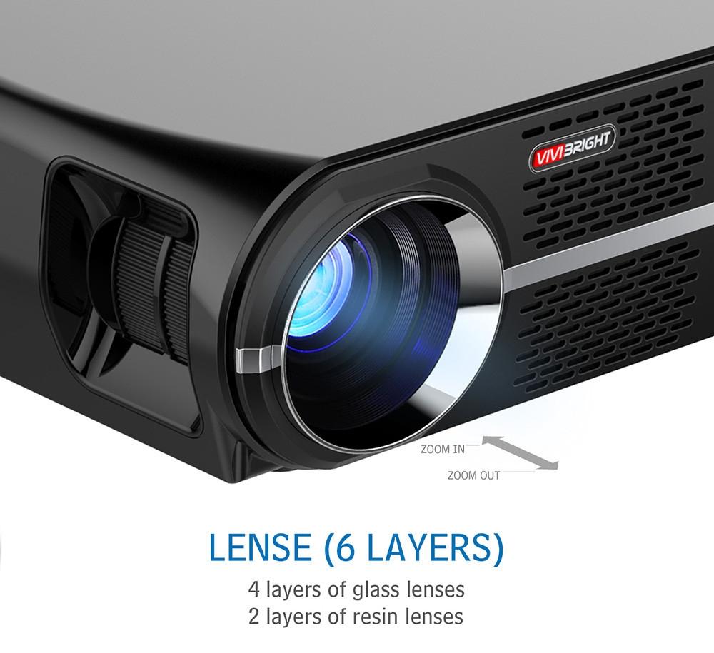 VIVIBRIGHT GP100 3200 Lumens Projector