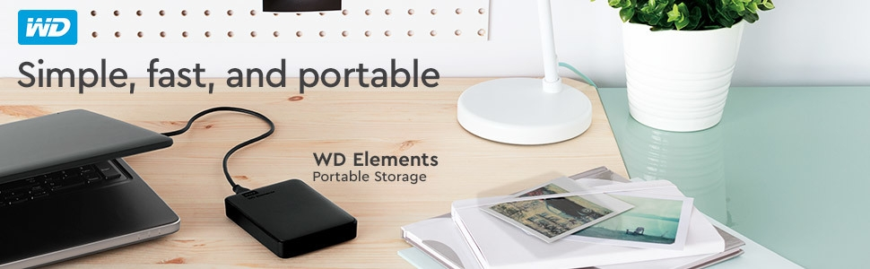 WD, WD Elements Storage, Lifestyle, Portable Storage, Hard Drive