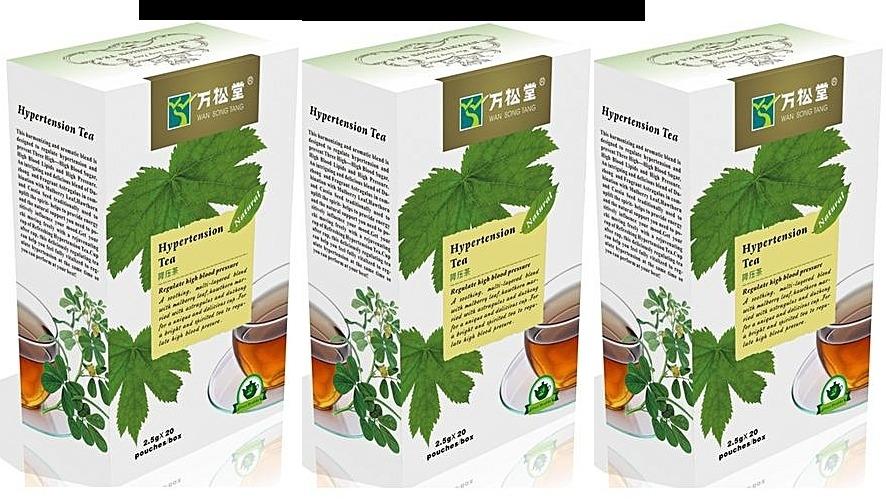 Hypertension Tea 3 Packs Combo