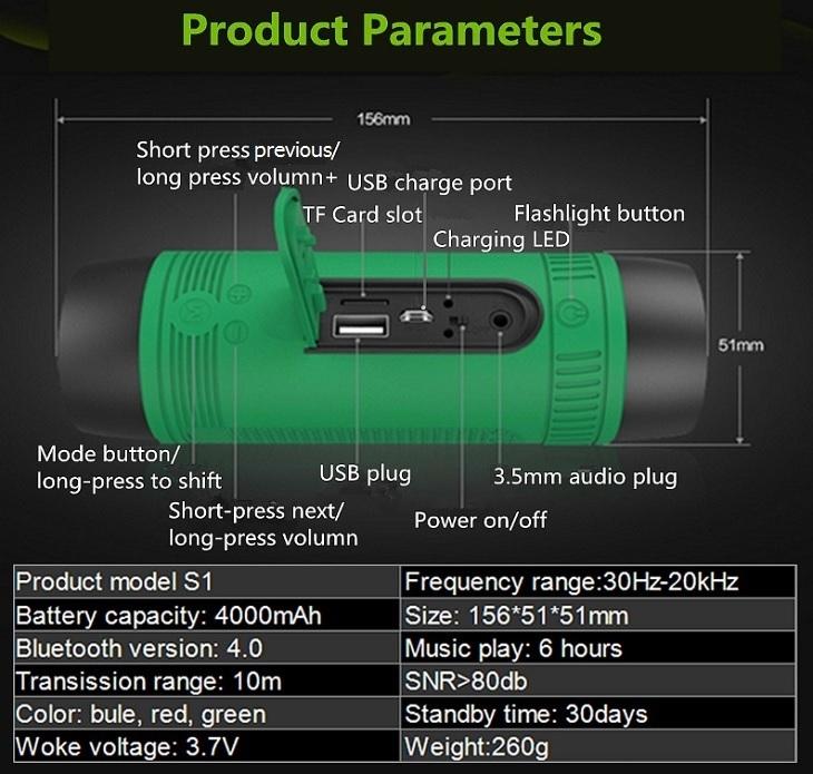 Zealot S1 specs affordable flashlight speaker jumia nigeria
