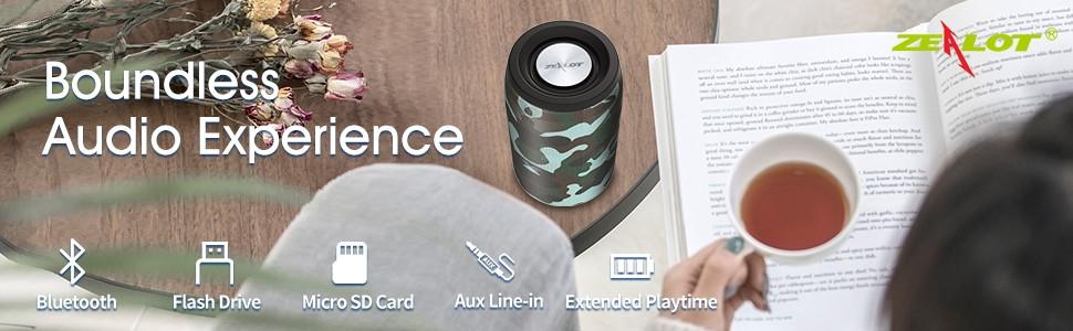small bluetooth speaker loud sound