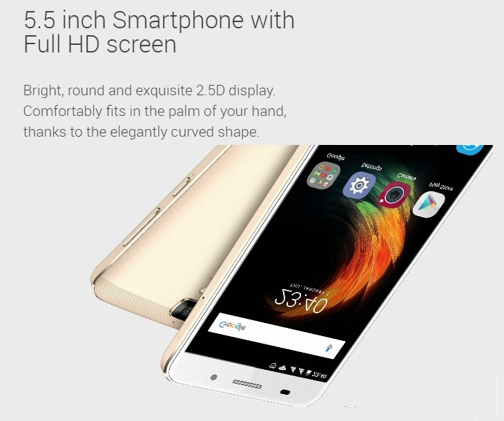 A610 Plus 5 5-inch (4gb, 32gb) 5000MAH Battery, Phone Case, Selfie Stick  And N1,000 Airtime - Gold