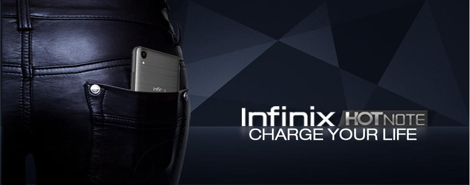 infinix hot note online at best price