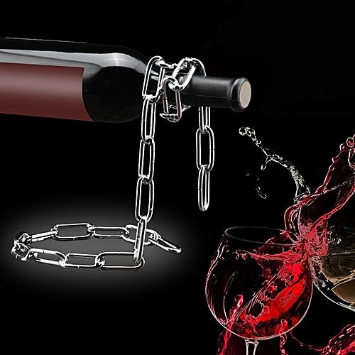 Chain Style Wine Rack Suspension Handmade Plating Rack Kitchen Bar Accessories
