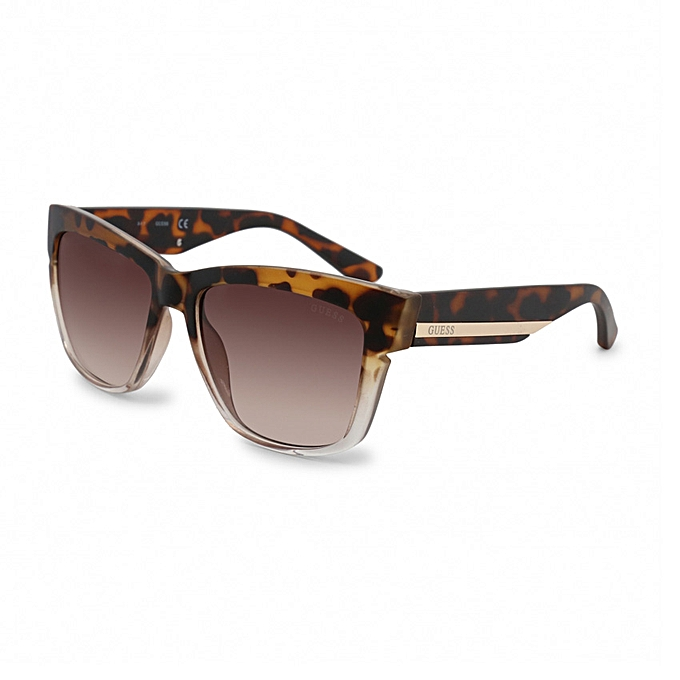 Guess Factory 6036 Women's Havana Frame Sunglasses