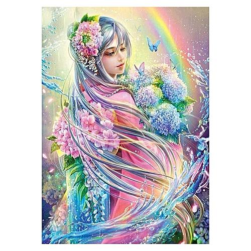 Diy 5d Diamond Painting Cross Stitch Of Diamond Embroidery The Flower Elves Diamond Decoration Gifts