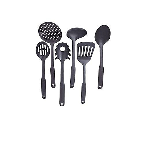 Universal Non Stick Cooking Spoon - 6pcs Set