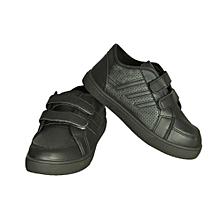 Kids Velcro Sneakers - Black