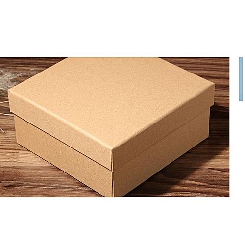 28*20*9 Cm Empty Box Rectangular Kraft Paper Gift Box Packaging Box Brown