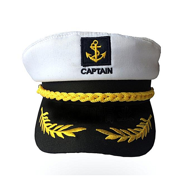 6b0a5f44 Benhongszy Unisex Skipper Ship Sailor Navy Yacht Military Captain Nautical  Hat Cap Period