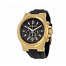 910d1389a2ae Dylan Black Silicon Strap Men  039 s Watch