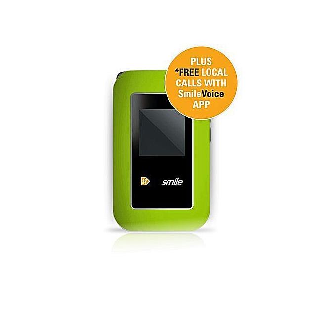 SMILE 4g LTE Mifi + 15GB Bonus Data For Browsing & Calls With 30 Days  Validity (10gb Day/5gb Night)