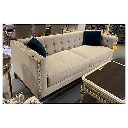 Michelle 3 Seater Sofa-FREE Pillows-Free Lagos Delivery