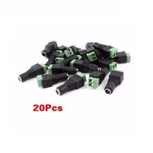 CCTV DC Jack Connector - Female- 20Pcs