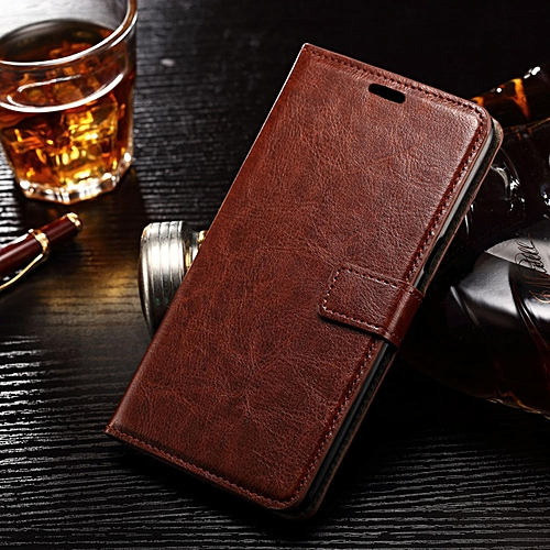 buy popular 8cce3 00551 [S6 Edge Plus] Case, Slim Holster Soft Flip Leather Cover With Card Slot  Stand Function For 5.7