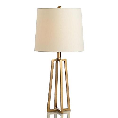 Postmodern Minimalist Wrought Iron American Table Lamp For Living Room Model Room Bedroom Living Room Study Room (36*36*65cm)