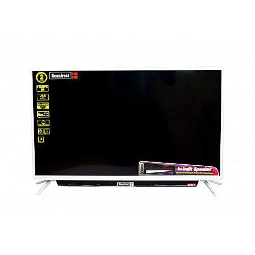Scanfrost 32 Hd Sound Bar Tv Silver Frame