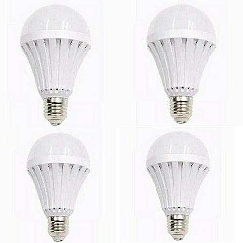 Rechargeable LED Intelligent SmartBulb 9W - Energy Saving (4 Packs)