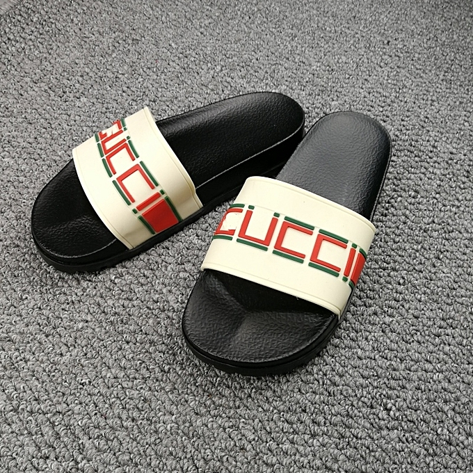 a44dd8acfb8e CCC New Leisure Male Sandals Comfortable Summer Leather Slippers Men Size 38 -46 Black