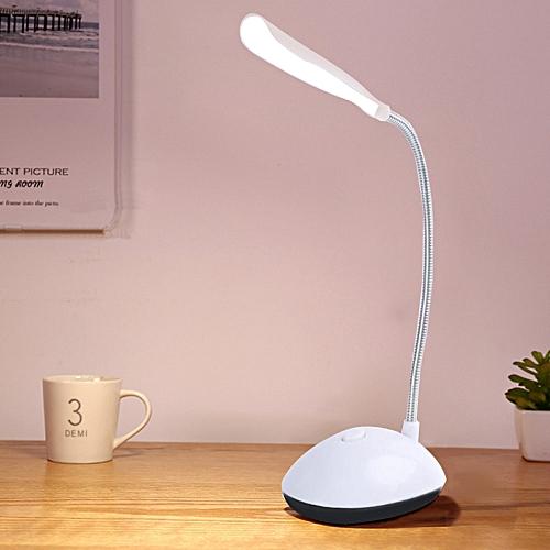 Flexible LED Desk Lamp Eye Protection On/Off Table Lamp AAA Battery Powered Reading Book Lights For Children Kids Night Light
