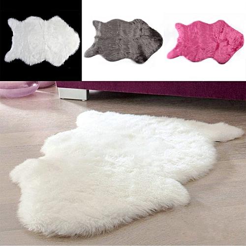 Super Soft Faux Sheepskin Sofa Cover Warm Hairy Carpet Seat Pad Fluffy Rugs