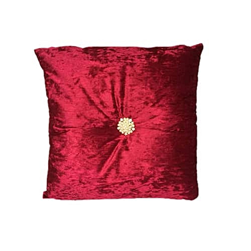 Throw Pillow- Raspberry 45x 45 Cm