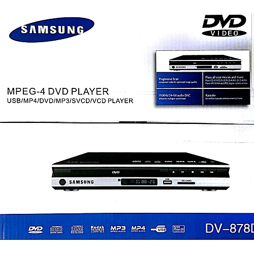 Multiple Playback Dvd With Usb Port Black