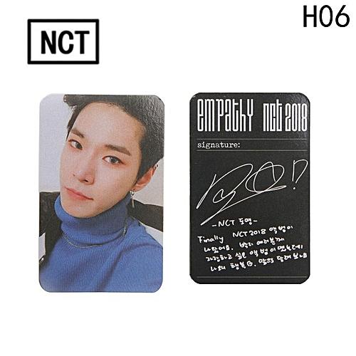 Eleganya 1 PC Kpop NCT New Album REALI Fashion Photo Small Cards