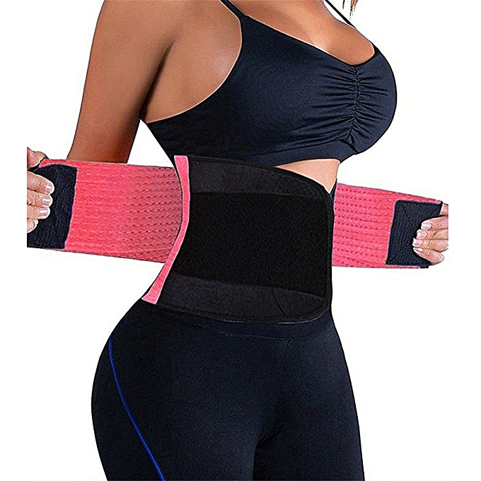 86df1f30427a2 Waist Trainer Belt For Women Waist Cincher Trimmer Slimming Body Shaper Belt  -Adjustable Sport Girdle